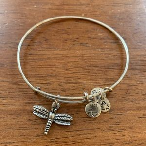 Alex and Ani Dragonfly Bangle